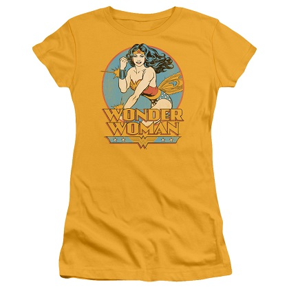 Wonder Woman Women's Yellow Tshirt