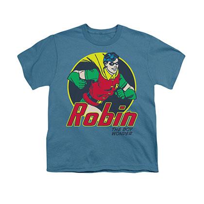Batman Robin Boy Wonder Blue Youth Unisex T-Shirt