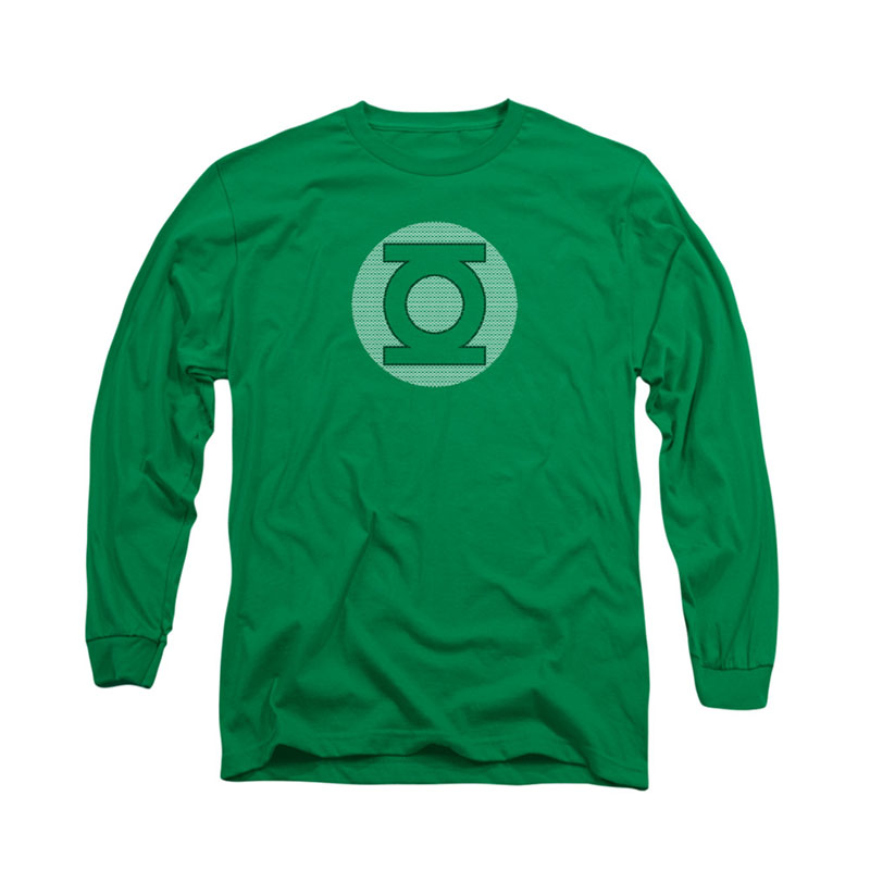 Green Lantern Little Logos Long Sleeve T-Shirt