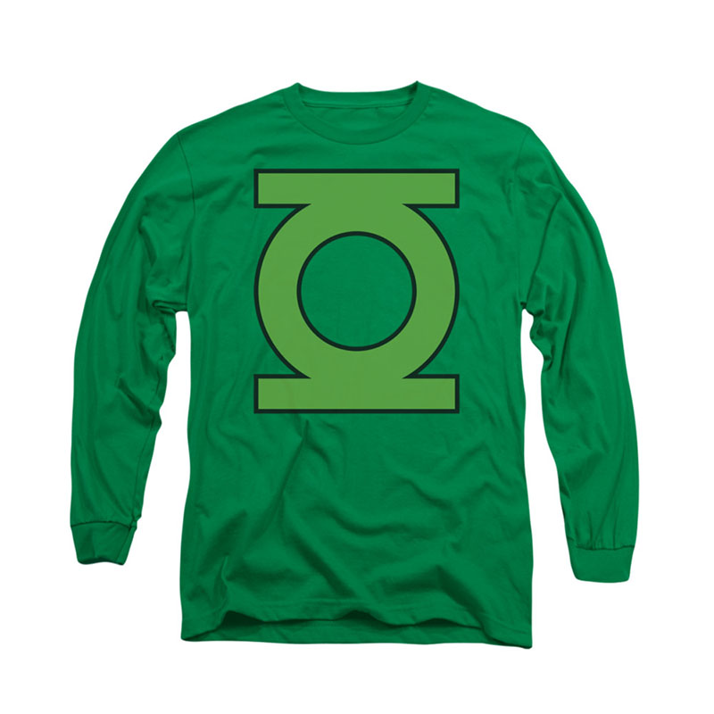 Green Lantern Emblem Logo Long Sleeve T-Shirt