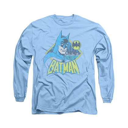 Batman Watch Yourself Blue Long Sleeve T-Shirt