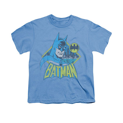 Batman Watch Yourself Blue Youth Unisex T-Shirt