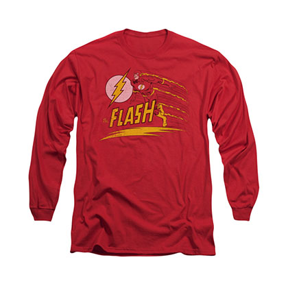 The Flash Like Lightning Red Long Sleeve T-Shirt