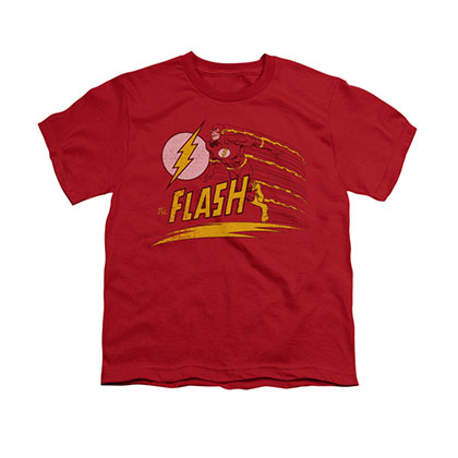 The Flash Like Lightning Red Youth Unisex T-Shirt