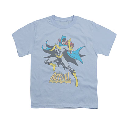 Batman Batgirl See Ya Blue Youth Unisex T-Shirt