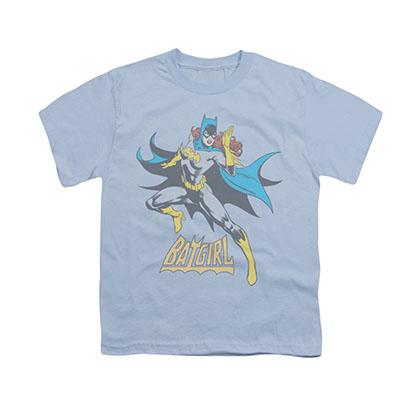 Batman Batgirl See Ya Blue Youth Unisex T-Shirt