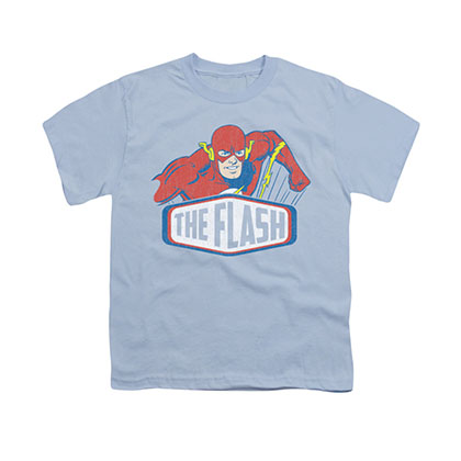 The Flash Sign Blue Youth Unisex T-Shirt