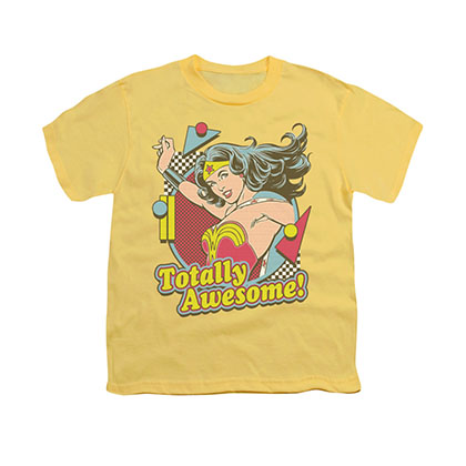Wonder Woman Totally Awesome Youth Unisex T-Shirt