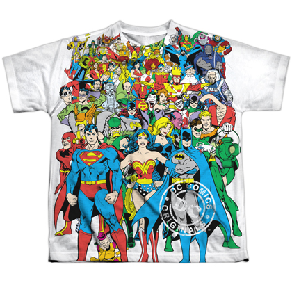 DC Comics Universe Youth Tshirt