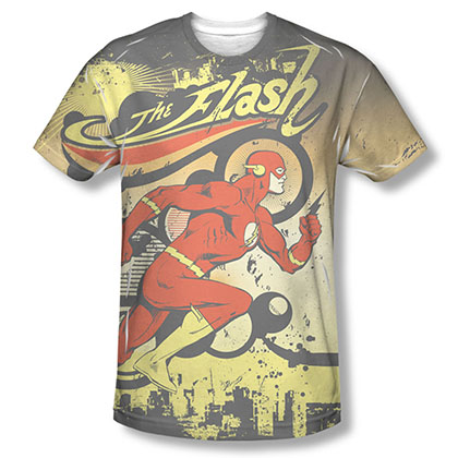 The Flash Passing Through Sublimation T-Shirt