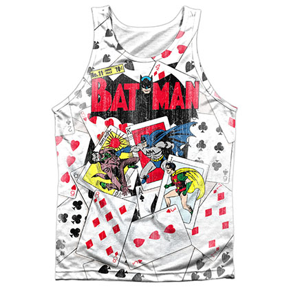 Batman Cards Sublimation Tank Top