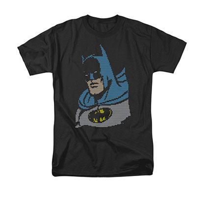 Batman Lite Brite Black Tee Shirt