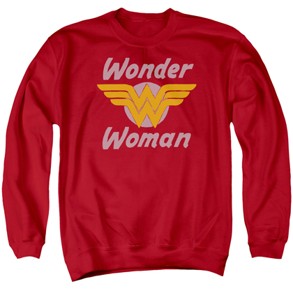 Wonder Woman Wings Logo Crewneck Sweatshirt