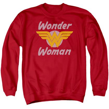Wonder Woman Wings Logo Crewneck Sweatshirt