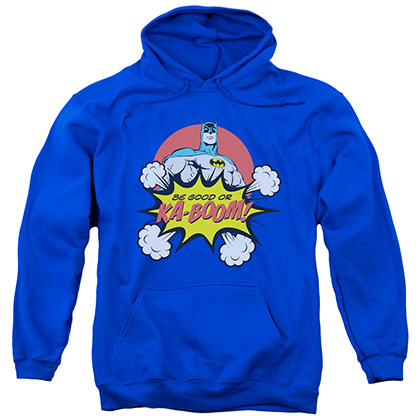 Batman Be Good Or Kaboom Christmas Blue Pullover Hoodie