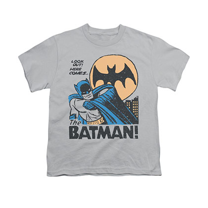 Batman Look Out Gray Youth Unisex T-Shirt