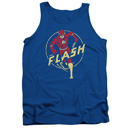 The Flash Comics Blue Tank Top