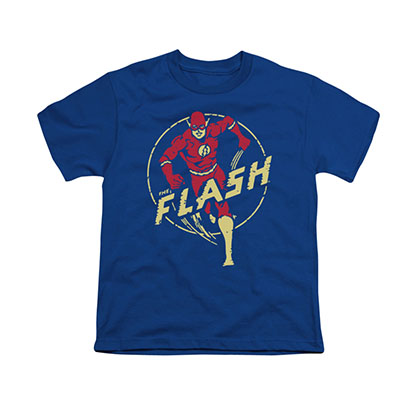 The Flash Comics Blue Youth Unisex T-Shirt