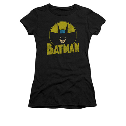 Batman DC Circle Black Juniors Tee Shirt