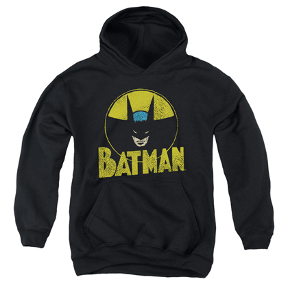 Batman Vintage Circle Logo Youth Hoodie