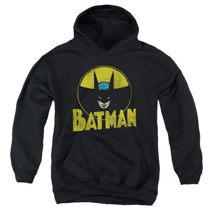 Batman Vintage Circle Logo Youth Hoodie
