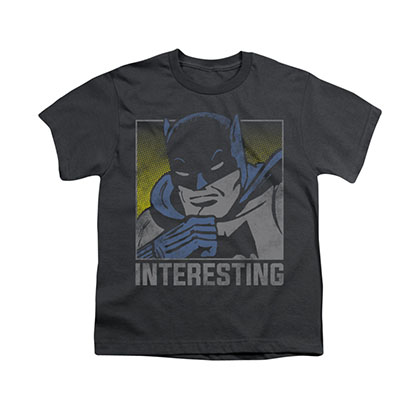 Batman Interesting Gray Youth Unisex T-Shirt