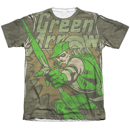 Green Arrow Take Aim Sublimation T-Shirt