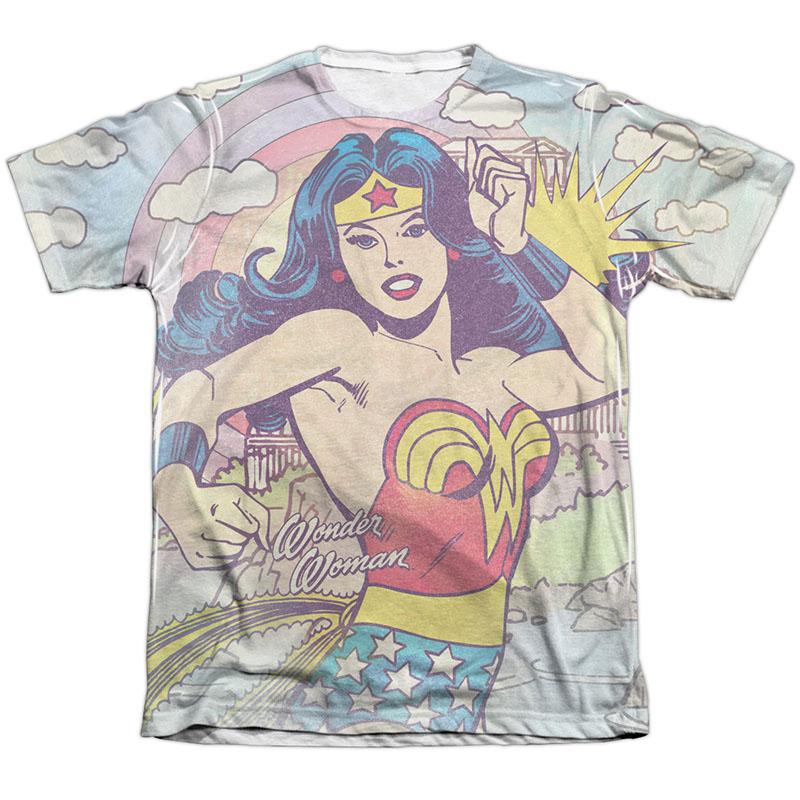 Wonder Woman Pose Sublimation T-Shirt