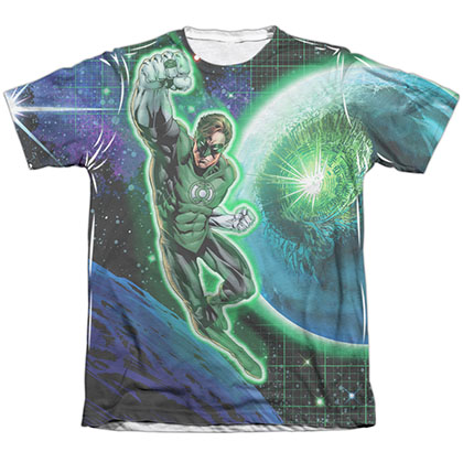 Green Lantern Space Sublimation T-Shirt