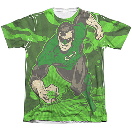 Green Lantern Radiant Power Sublimation T-Shirt