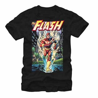 Flash City Run Black T-Shirt