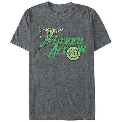 Green Arrow Arrow of Green Gray T-Shirt