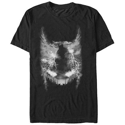 Batman Knight Watcher Black T-Shirt