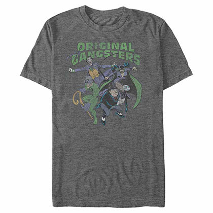 Batman Classic Gangsters Gray T-Shirt