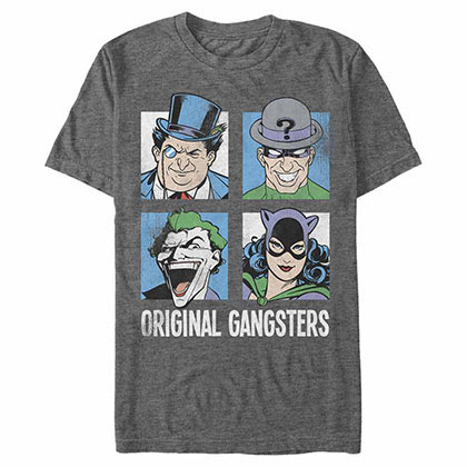 Batman Boxed Gang Gray T-Shirt