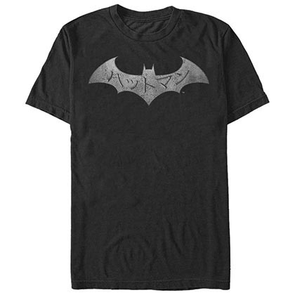 Batman Kanji Steel Black T-Shirt