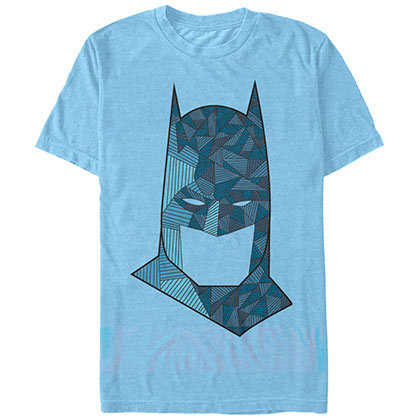 Batman Ornate Blue T-Shirt