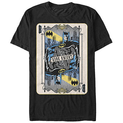 Batman Bat Card Black T-Shirt