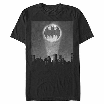 Batman Batman Signal Black T-Shirt
