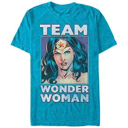 Wonder Woman Team Wonder Blue T-Shirt