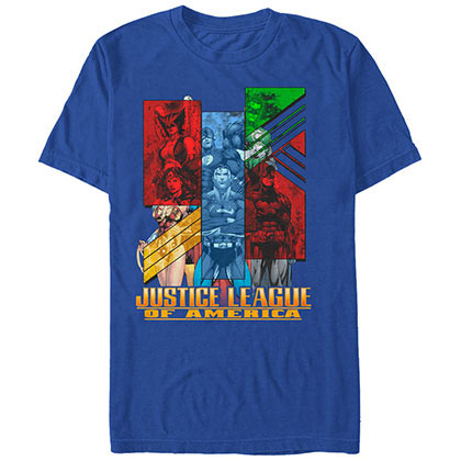 Justice League Justice Blue T-Shirt