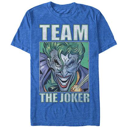 Batman Team Joker Blue T-Shirt
