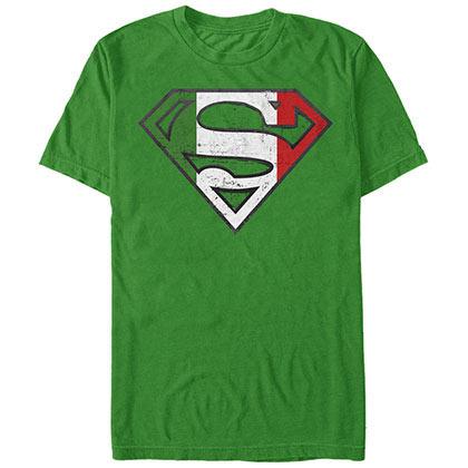 Superman Italia Hero Green T-Shirt