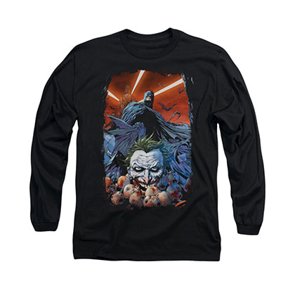 Batman Detectice Comics Black Long Sleeve T-Shirt