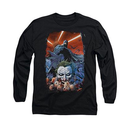Batman Detectice Comics Black Long Sleeve T-Shirt