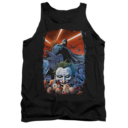 Batman Comic Cover Black Tank Top