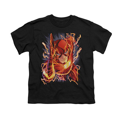 The Flash #1 Black Youth Unisex T-Shirt