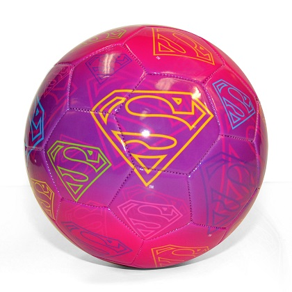 Supergirl Soccer Ball