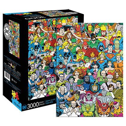 DC Comics 3000 Piece Retro Puzzle