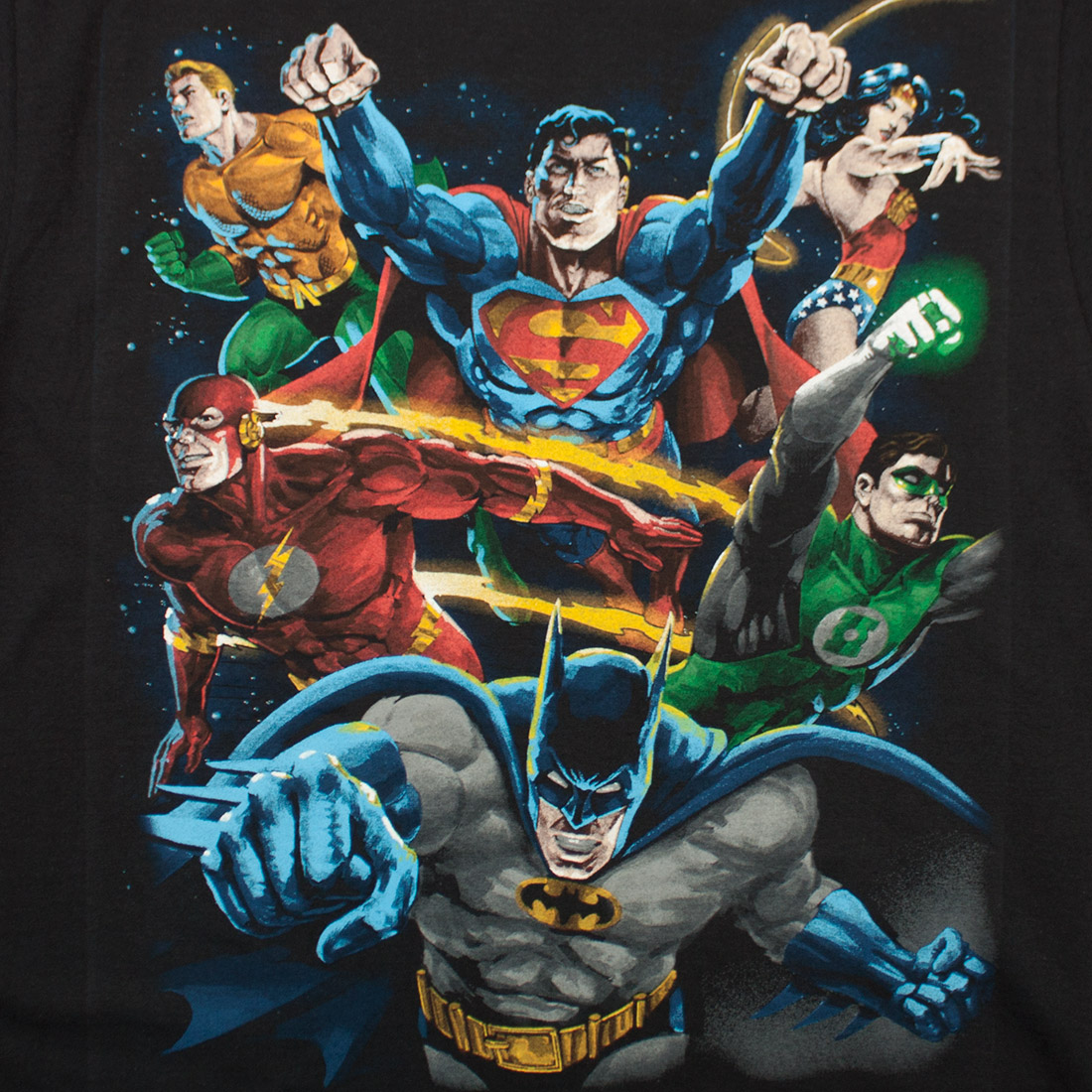 Justice League Characters Shirt